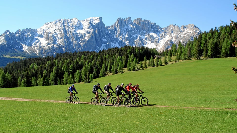 Your mountain bike holiday in South Tyrol